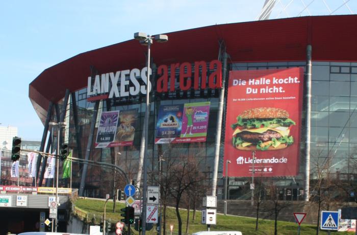 Riesenposter Köln